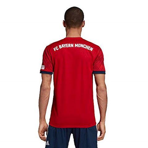 adidas Bayern Munich Mens SS Home Shirt 2018/19 Image 5