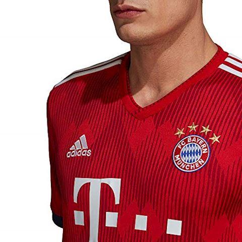 adidas Bayern Munich Mens SS Home Shirt 2018/19 Image 6