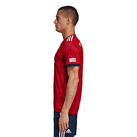 adidas Bayern Munich Mens SS Home Shirt 2018/19 Image 7