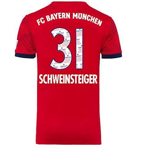 adidas Bayern Munich Mens SS Home Shirt 2018/19 Image 8