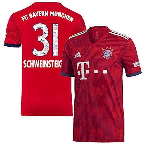 adidas Bayern Munich Mens SS Home Shirt 2018/19 Image 9
