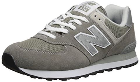New Balance  ML574  women's Shoes (Trainers) in Grey Image