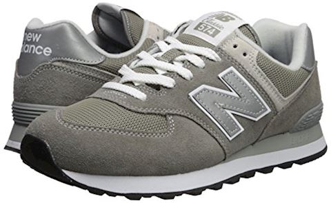 New Balance  ML574  women's Shoes (Trainers) in Grey Image 6