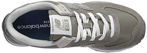 New Balance  ML574  women's Shoes (Trainers) in Grey Image 8