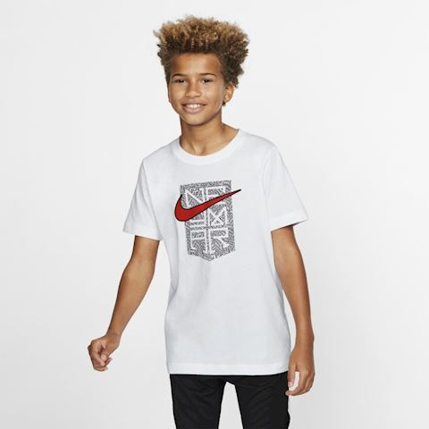 Nike Neymar Jr. Older Kids' T-Shirt - White Image