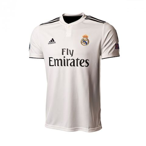 best loved 3f054 8ae55 adidas Real Madrid Mens SS Home Champions League Shirt 2018/19