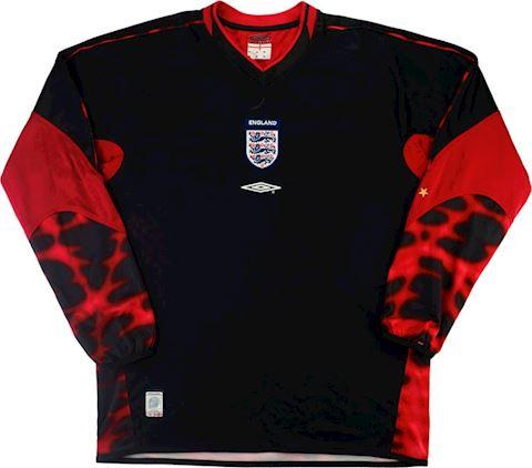 Umbro England Kids LS Goalkeeper Home Shirt 2003 Image
