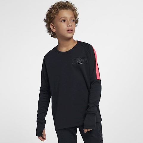 Nike Dri-FIT CR7 Older Kids' (Boys') Long-Sleeve Football Top - Black Image