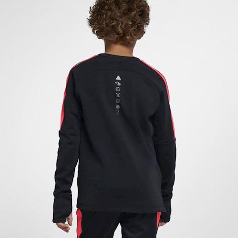 Nike Dri-FIT CR7 Older Kids' (Boys') Long-Sleeve Football Top - Black Image 2