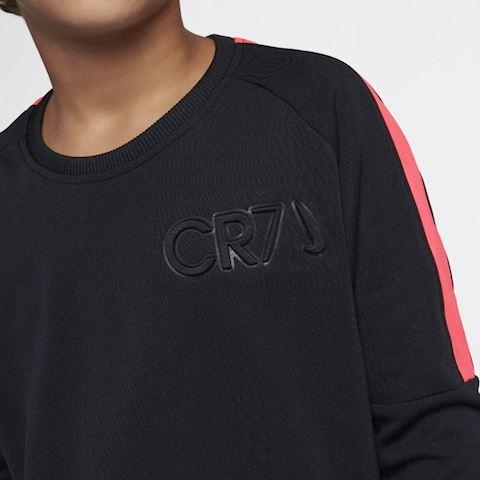 Nike Dri-FIT CR7 Older Kids' (Boys') Long-Sleeve Football Top - Black Image 3