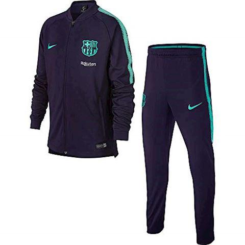 Nike FC Barcelona Dri-FIT Squad Older Kids'Football Track Suit - Purple Image