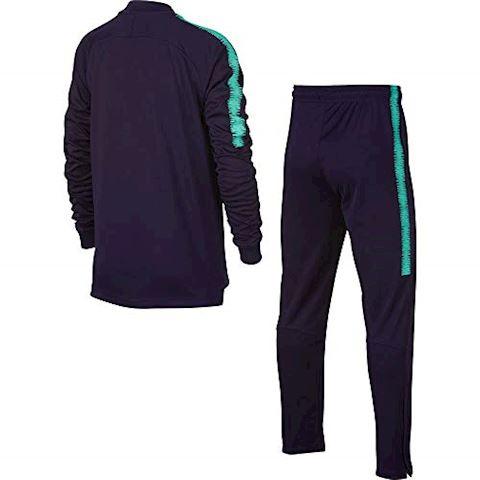 Nike FC Barcelona Dri-FIT Squad Older Kids'Football Track Suit - Purple Image 2