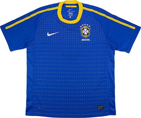 Nike Brazil Kids SS Away Shirt 2010 Image 2