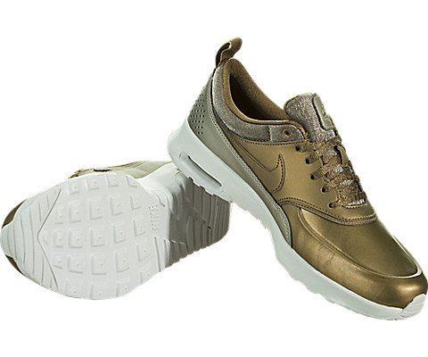 Nike Air Max Thea Premium Women's Shoe - Brown Image 3