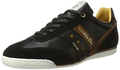 Pantofola d'Oro  VASTO UOMO LOW  men's Shoes (Trainers) in Black Image