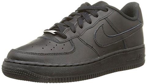 34771aecbe Nike Air Force 1 Older Kids  Shoe - Black Image