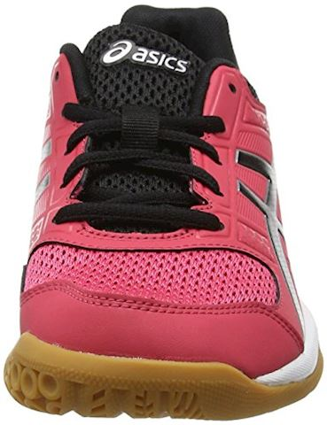 Asics  GEL-ROCKET 8  women's Indoor Sports Trainers (Shoes) in pink Image 4