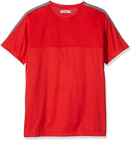 Puma Arsenal Training T-Shirt High Risk Red/Steel Grey Kids Image 2