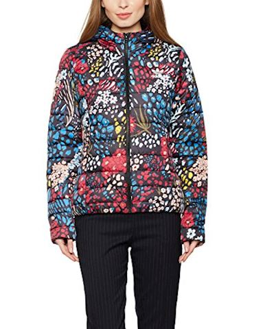 adidas  SLIM JACKET AOP  women's Jacket in Multicolour Image