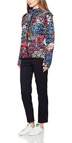 adidas  SLIM JACKET AOP  women's Jacket in Multicolour Image 4