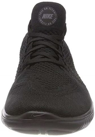 Nike Free RN Flyknit 2018 Men's Running Shoe - Black Image 11