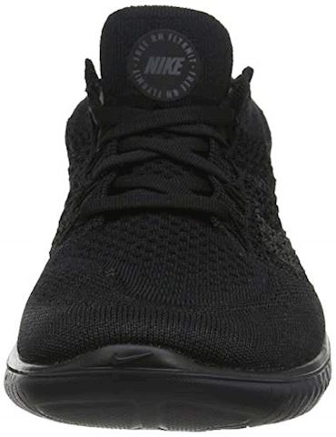 Nike Free RN Flyknit 2018 Men's Running Shoe - Black Image 4