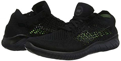 Nike Free RN Flyknit 2018 Men's Running Shoe - Black Image 5