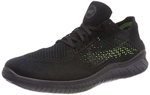 Nike Free RN Flyknit 2018 Men's Running Shoe - Black Image 8
