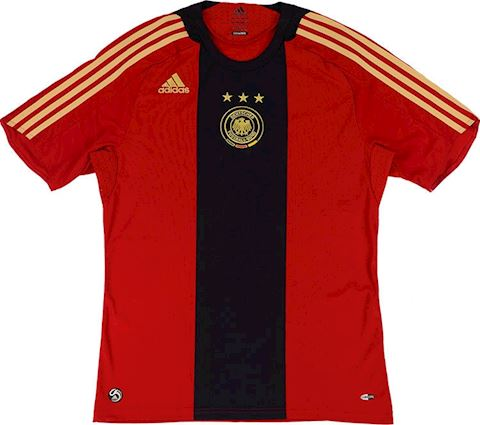 adidas Germany Kids SS Away Shirt 2008 Image