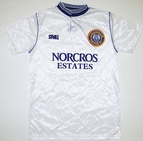 Colchester United Mens SS Away Shirt 1988/90 Image