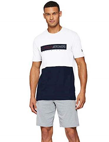 Under Armour Men's UA Baseline Wordmark Short Sleeve T-Shirt Image