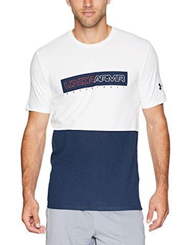 Under Armour Men's UA Baseline Wordmark Short Sleeve T-Shirt Image 6