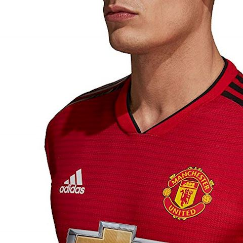 adidas Manchester United Mens SS Player Issue Home Shirt 2018/19 Image 3