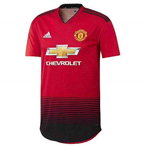 adidas Manchester United Mens SS Player Issue Home Shirt 2018/19 Image 5