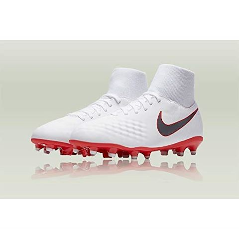 Nike Jr. Magista Obra II Academy Dynamic Fit FG Younger/Older Kids'Firm-Ground Football Boot - White Image 3
