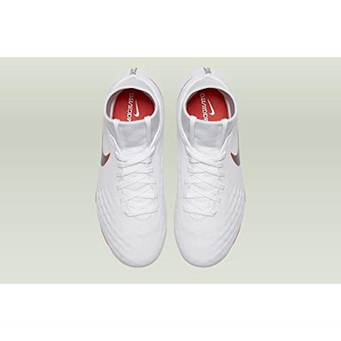 Nike Jr. Magista Obra II Academy Dynamic Fit FG Younger/Older Kids'Firm-Ground Football Boot - White Image 4
