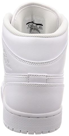 Nike Air Jordan 1 Mid Men's Shoe - White Image 2
