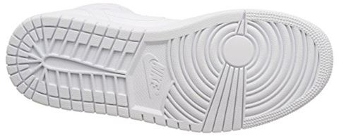 Nike Air Jordan 1 Mid Men's Shoe - White Image 3