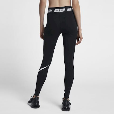 Nike Sportswear Club Women's High-Rise Leggings - Black Image 2