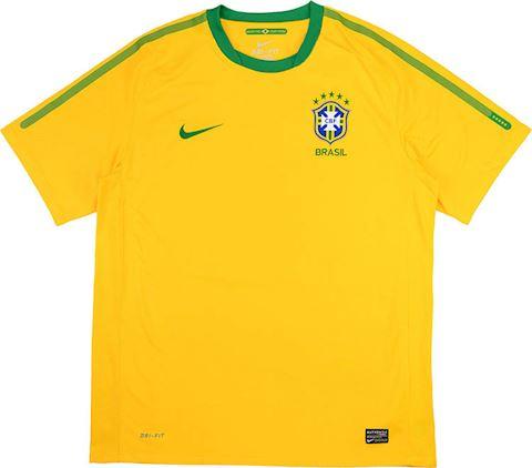Nike Brazil Kids SS Home Shirt 2010 Image