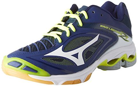 Mizuno  WAVE LIGHTNING Z4  men's Indoor Sports Trainers (Shoes) in Blue Image 2