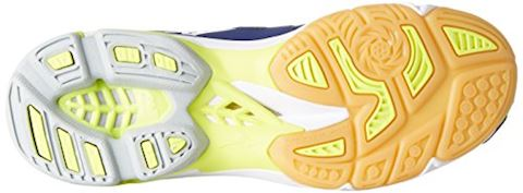 Mizuno  WAVE LIGHTNING Z4  men's Indoor Sports Trainers (Shoes) in Blue Image 4