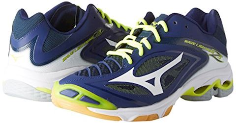 Mizuno  WAVE LIGHTNING Z4  men's Indoor Sports Trainers (Shoes) in Blue Image 6