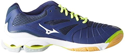 Mizuno  WAVE LIGHTNING Z4  men's Indoor Sports Trainers (Shoes) in Blue Image 7