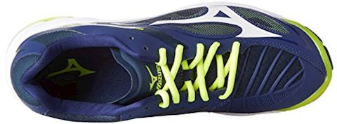 Mizuno  WAVE LIGHTNING Z4  men's Indoor Sports Trainers (Shoes) in Blue Image 8