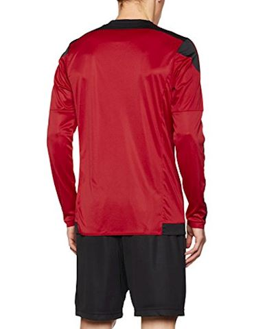 adidas Striped 15 LS Jersey Power Red Black Image 2