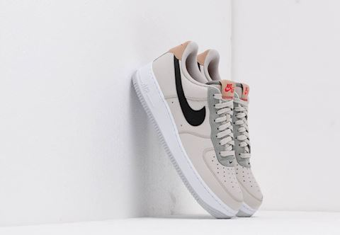 hot sale online ab26d f63dd Nike Air Force 1  07 Light Bone  Black-Mica Green Image