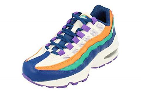 the best attitude fe053 742af Nike Air Max 95 Older Kids  Shoe - Blue Image