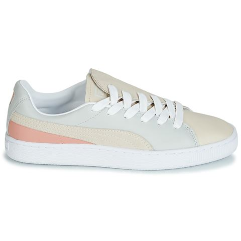 Puma WN BASKET CRUSH PARIS.GRAY women's Shoes (Trainers) in Grey