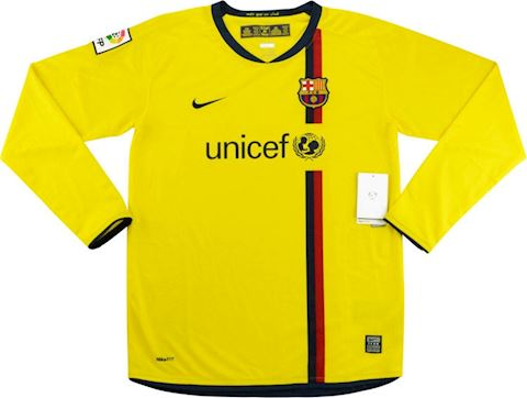 Nike Barcelona Kids LS Away Shirt 2008/10 Image